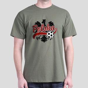 Polska Soccer Dark T-Shirt