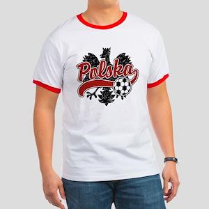 Polska Soccer Ringer T