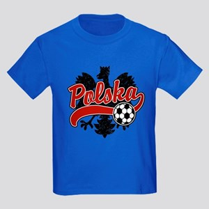 Polska Soccer Kids Dark T-Shirt