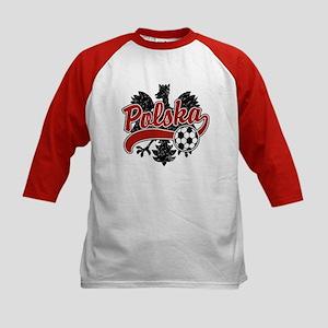 Polska Soccer Kids Baseball Jersey