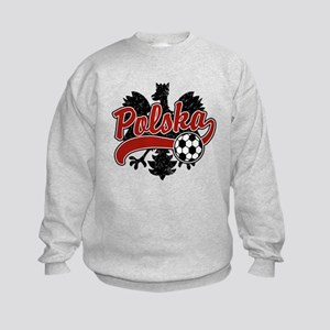 Polska Soccer Kids Sweatshirt