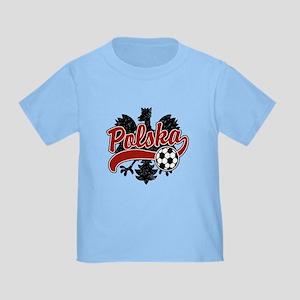 Polska Soccer Toddler T-Shirt