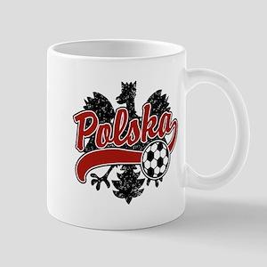 Polska Soccer Mug