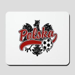 Polska Soccer Mousepad