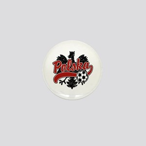 Polska Soccer Mini Button