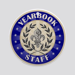Yearbook Staff Ornament (Round)