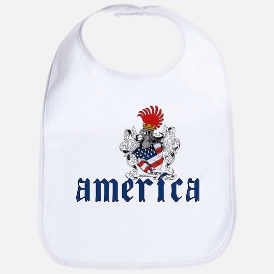America Shield Bib