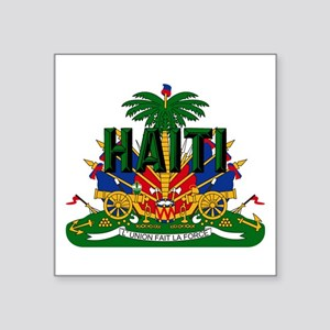Haitian Coat Of Arms Sticker