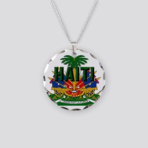 Haitian Coat of Arms Necklace