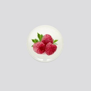 Raspberries Mini Button