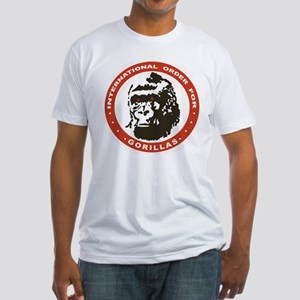 Real Genius: Intl Order for Gorillas Fitted Shirt