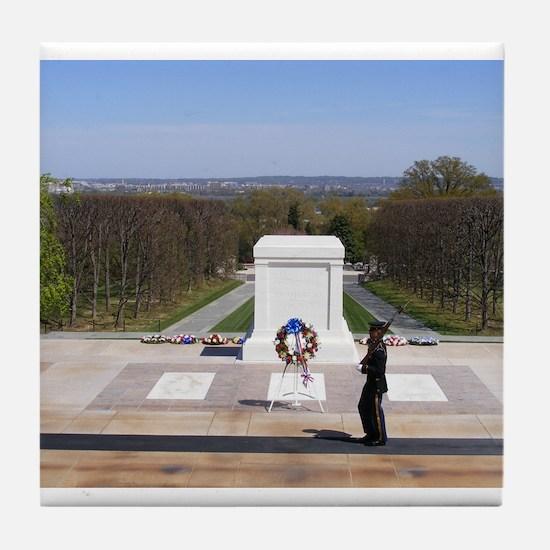 Unique Arlington national cemetery Tile Coaster