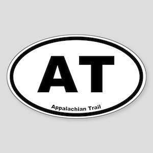 Appalachian Trail Oval Sticker