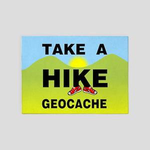 Take A Hike Landscape 5'x7'Area Rug