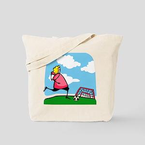 Soccer Shooter Tote Bag
