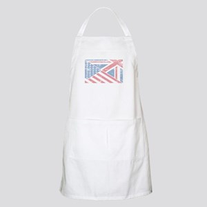 British American Flag Light Apron