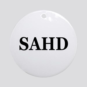 SAHD Ornament (Round)