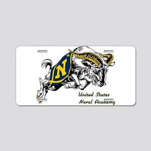 US Naval Academy LIGHT Aluminum License Plate