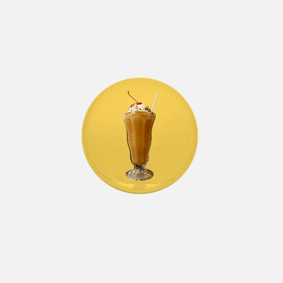 Chocolate Milkshake Mini Button