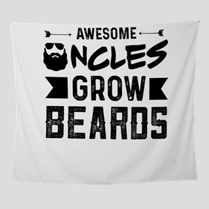 Awesome Bearded Uncle Wall Tapestry