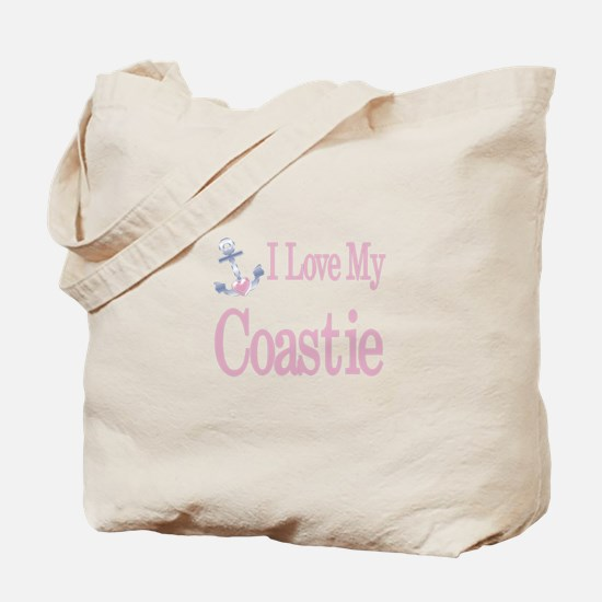 i love my coastie Tote Bag