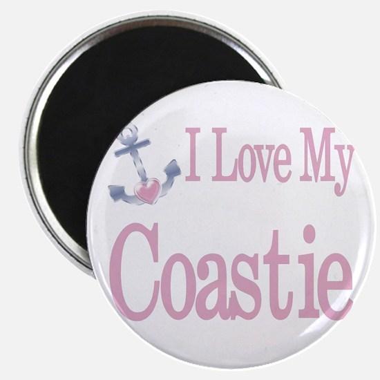 i love my coastie Magnet