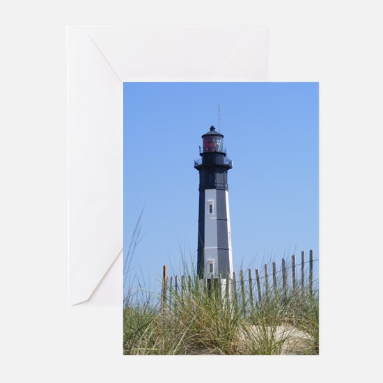 Cute Lighthouses in virginia Greeting Cards (Pk of 20)
