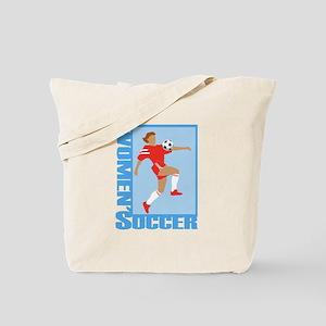 Women's Soccer Tote Bag