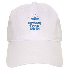 1st Birthday Prince Zhyen! Baseball Cap