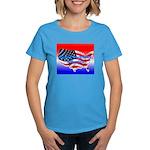 HAPPY BIRTHDAY, AMERICA Women's Dark T-Shirt
