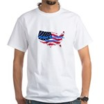 HAPPY BIRTHDAY, AMERICA White T-Shirt