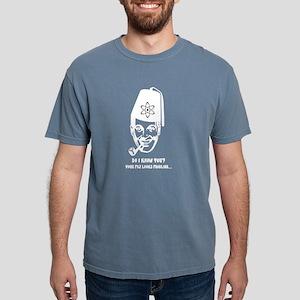 Subgenius Fez Bob Black Tee T-Shirt