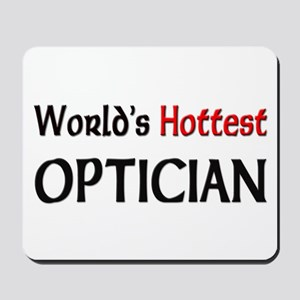World's Hottest Optician Mousepad