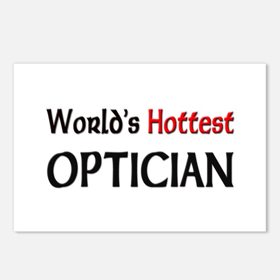 World's Hottest Optician Postcards (Package of 8)