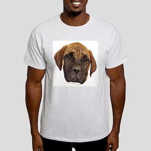 Bullmastiff Puppy Ash Grey T-Shirt