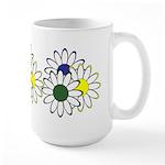 Flowers Are Fun Large Mug