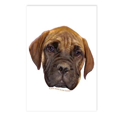 Bullmastiff Puppy Postcards (Package of 8)