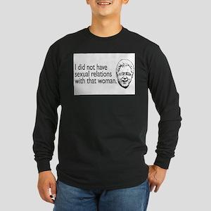 billclinton Long Sleeve T-Shirt