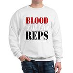 Bodybuilding Blood Sweat Reps Sweatshirt