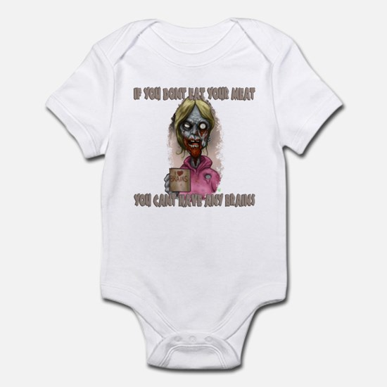 Mombie - Eat your Meat Infant Bodysuit