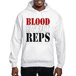 Bodybuilding Blood Sweat Reps Hooded Sweatshirt