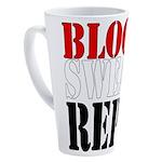 Bodybuilding Blood Sweat Reps 17 oz Latte Mug