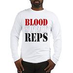 Bodybuilding Blood Sweat Reps Long Sleeve T-Shirt