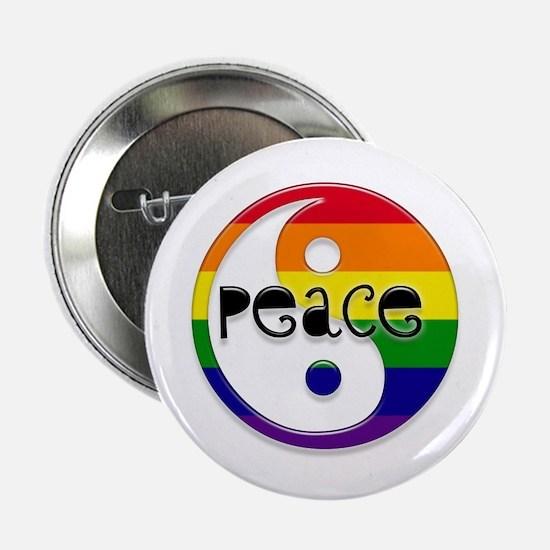 """Gay Peace 2.25"""" Button"""