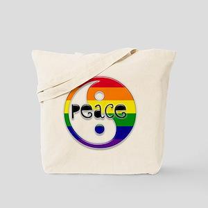 Gay Peace Tote Bag