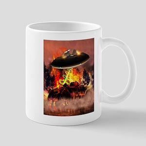 Alien Bar-B-Q For both Dark & Mug
