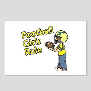 Football Girls Rule Postcards (Package of 8)