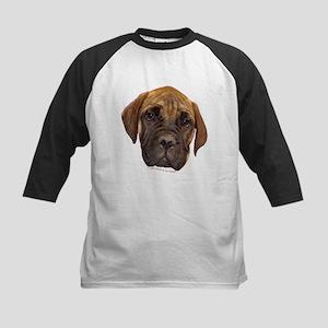 Bullmastiff Puppy Kids Baseball Jersey