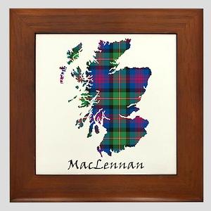 Map-MacLennan Framed Tile