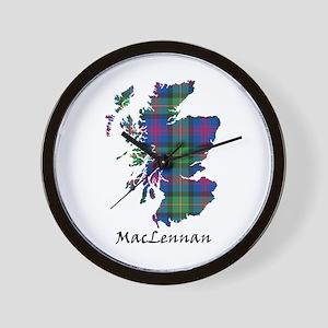 Map-MacLennan Wall Clock